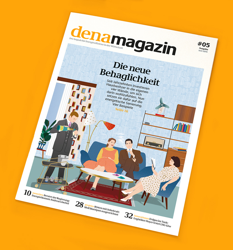 denamagazin 5, cover illustration