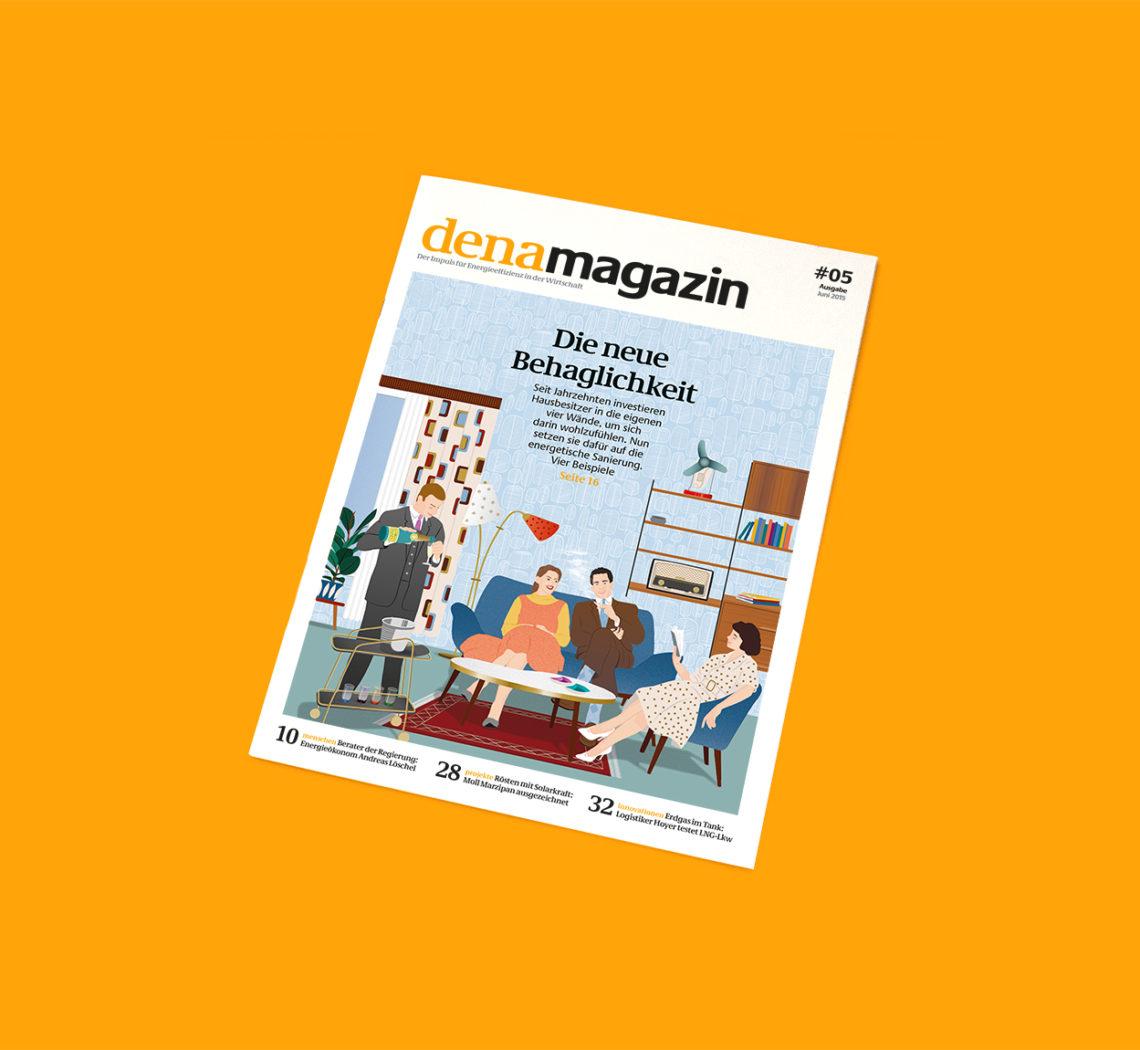 denamagazin 5, cover illustration