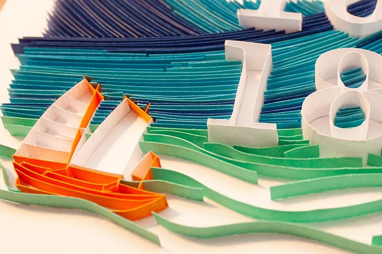 Papercraft Ozean Ocean, Zoom 3