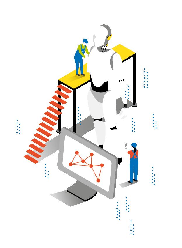 TÜV Rheinland Infografik Infographic Illustration Internet of Things Innenseiten inner pages detail
