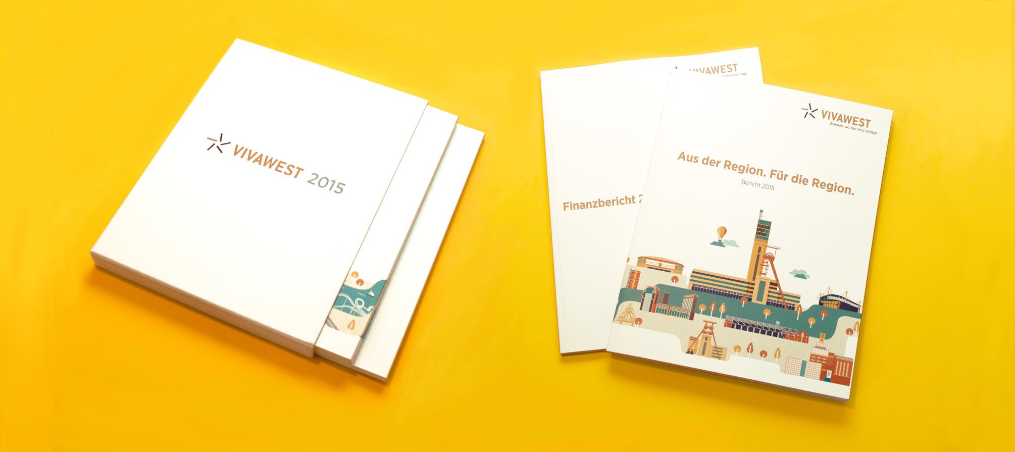 Vivawest Geschäftsbericht Cover, Vivawest Annual Report Cover